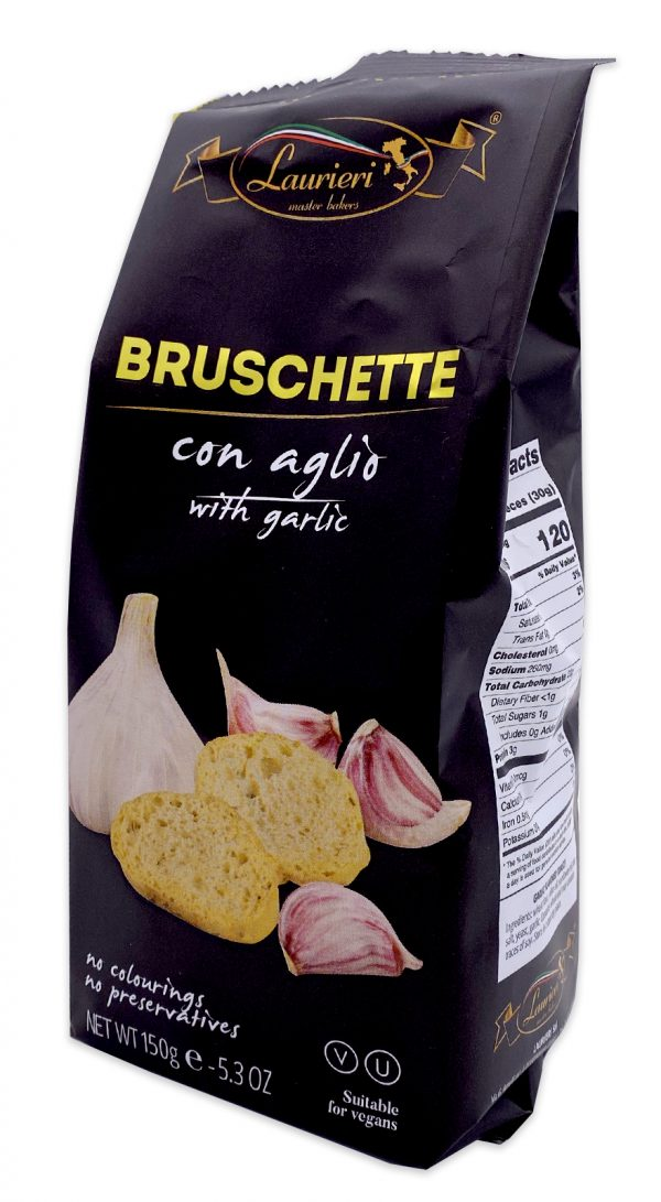 Laurieri Bruschette Garlic Crackers 02