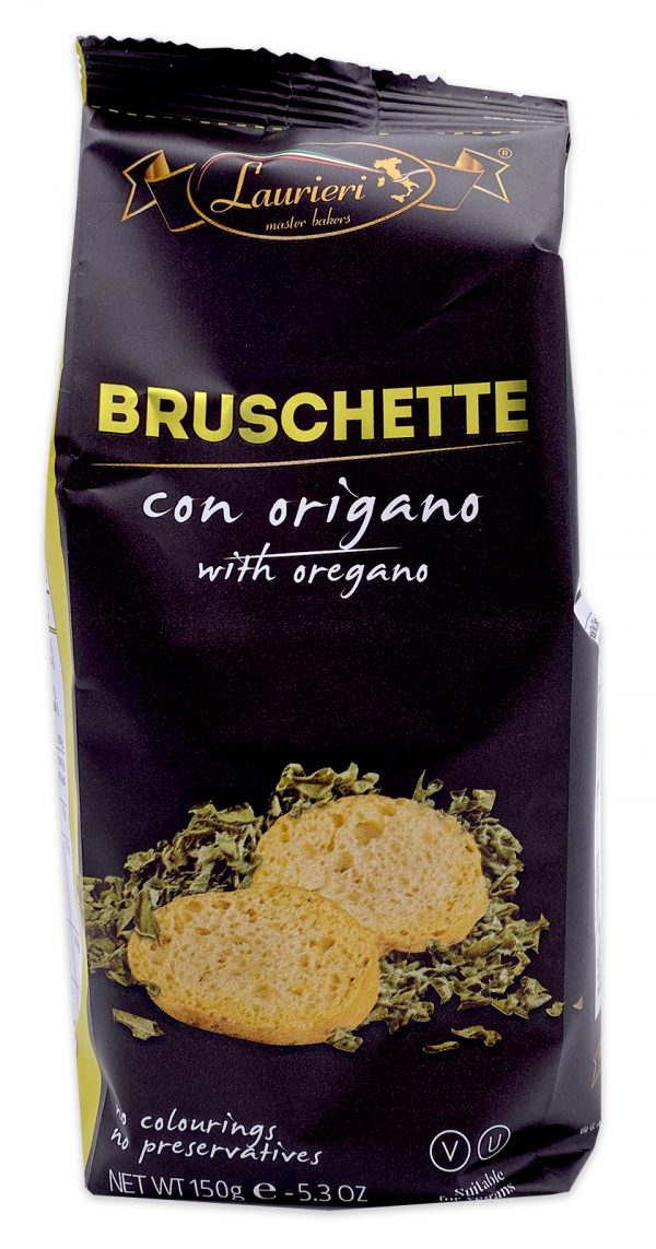 Laurieri Bruschette Oregano Crackers 01