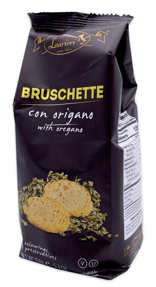 Laurieri Bruschette Oregano Crackers 02