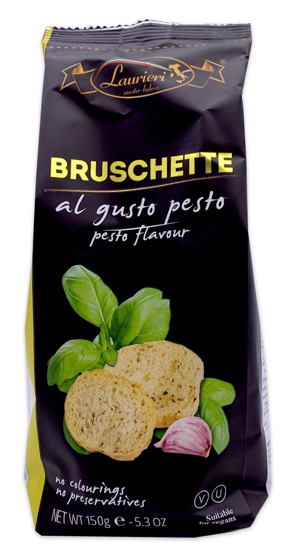 Laurieri Bruschette Pesto Crackers 05