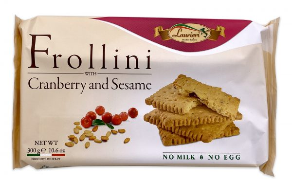 Laurieri Frollini with Cranberry and Sesame Italian Breakfast Cookies 01