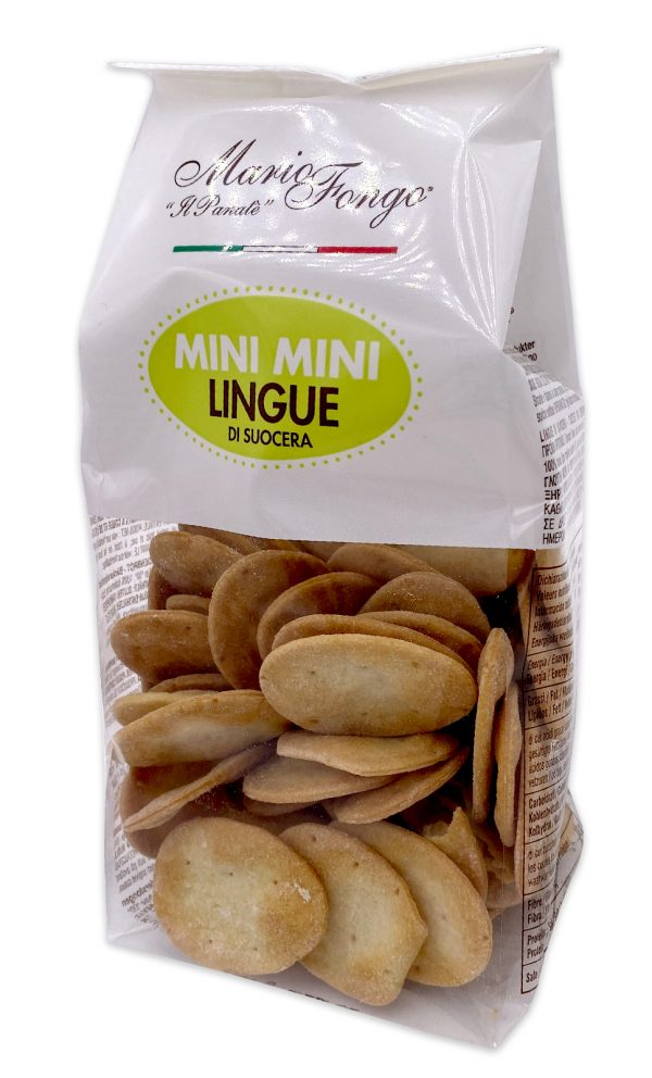 Mario Fongo Mini Mini Lingue Di Suocera Italian Flatbread Crackers 02