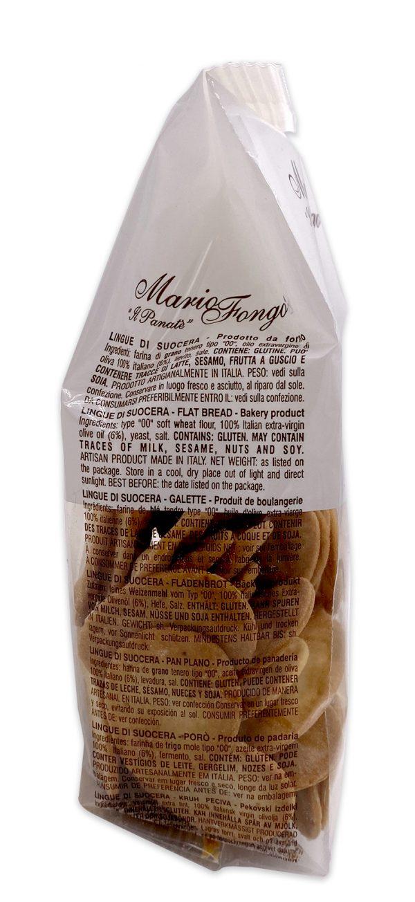 Mario Fongo Mini Mini Lingue Di Suocera Italian Flatbread Crackers 03