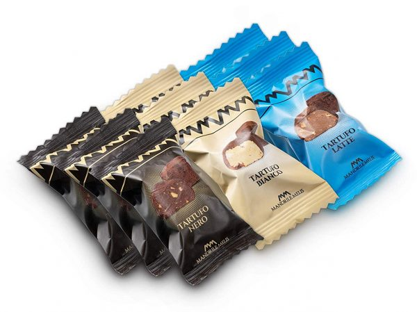 Italian Hazelnut Chocolate Truffles