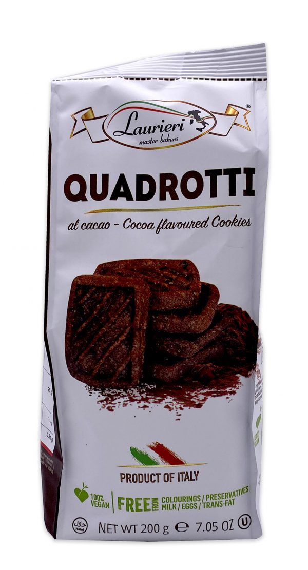 Laurieri Quadrotti Italian Chocolate Cookies 01