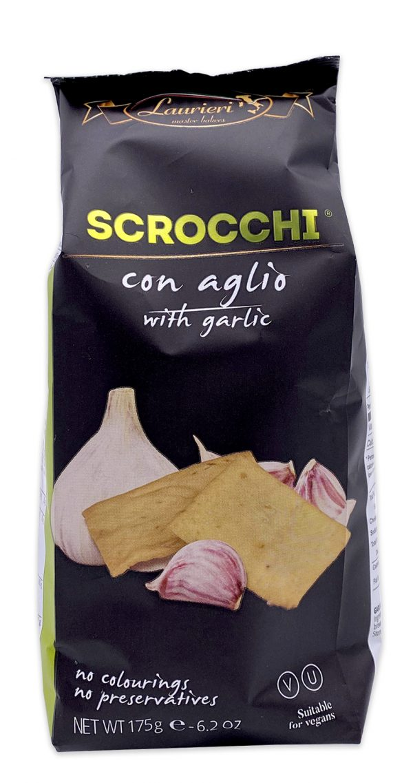 Laurieri Scrocchi Garlic Crackers 01