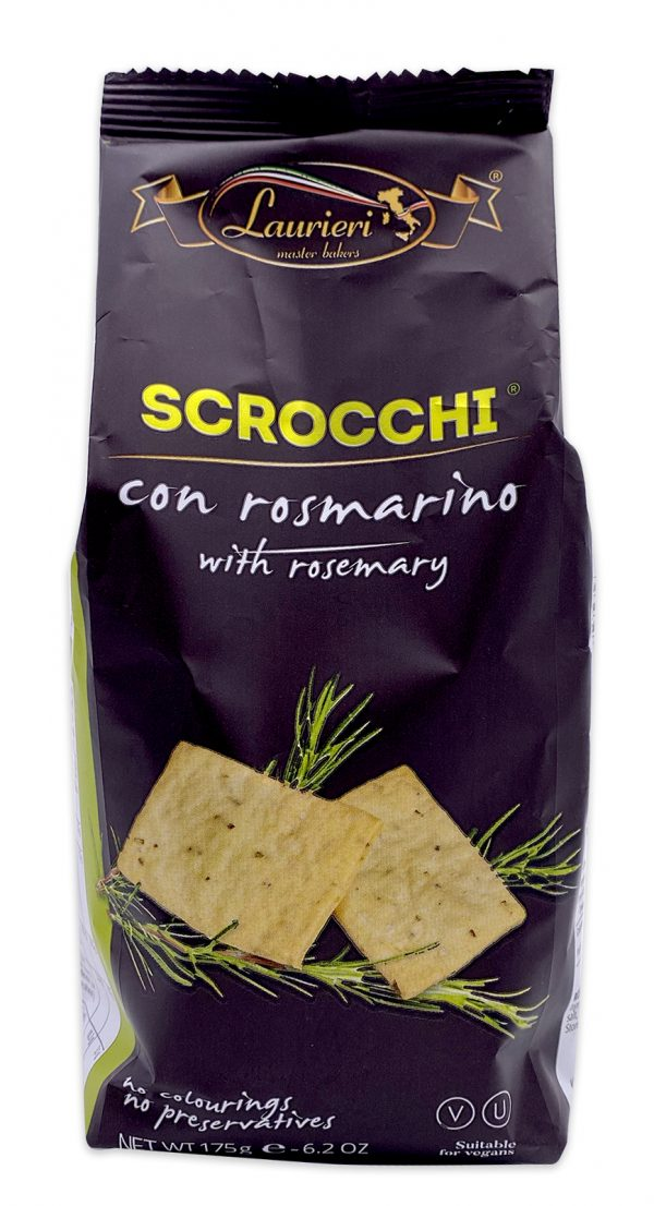 Laurieri Scrocchi Rosemary Crackers 01