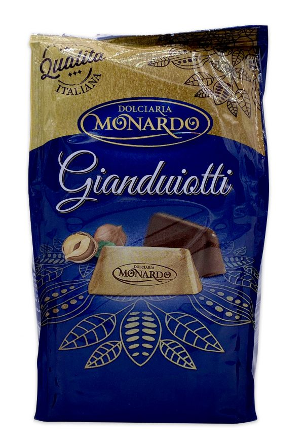 Monardo Gianduiotti Italian Hazelnut Chocolate 90g 01