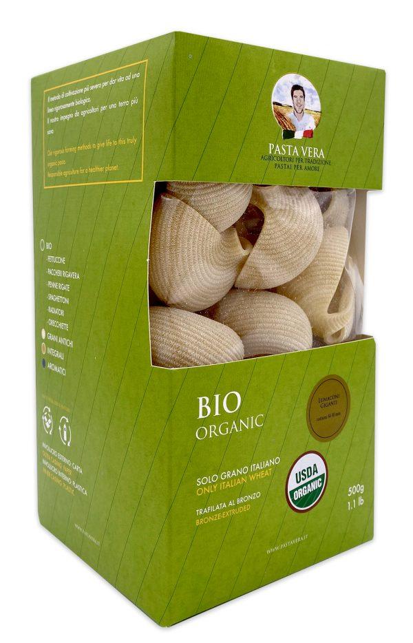 Pasta Vera Italian Organic Lumaconi Giganti Conchiglioni 03