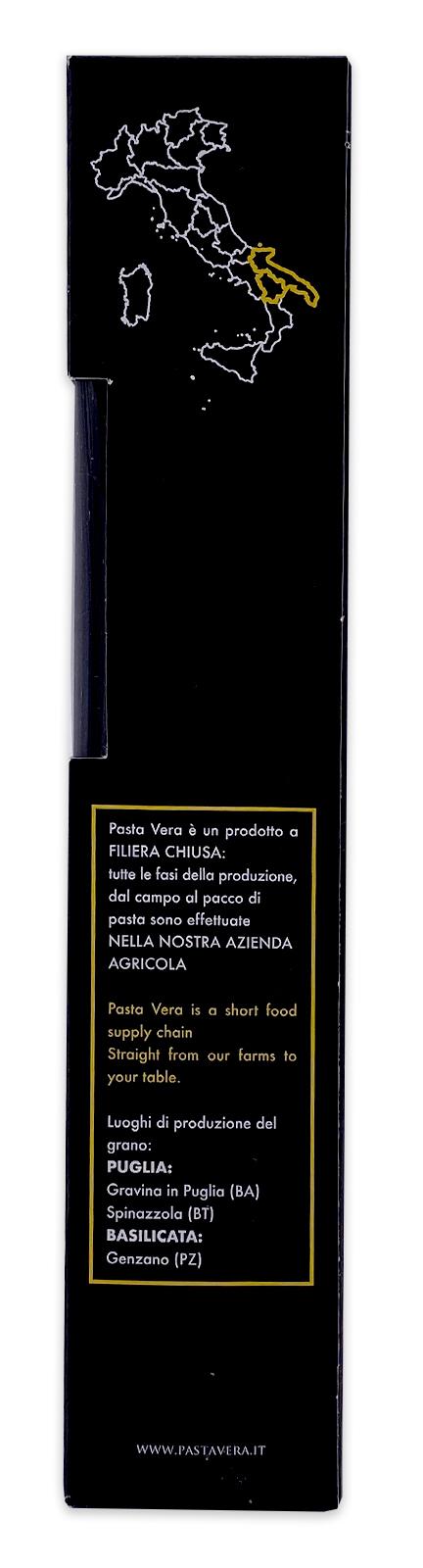 Pasta Vera Italian Organic Squid Ink Fettuccine 01
