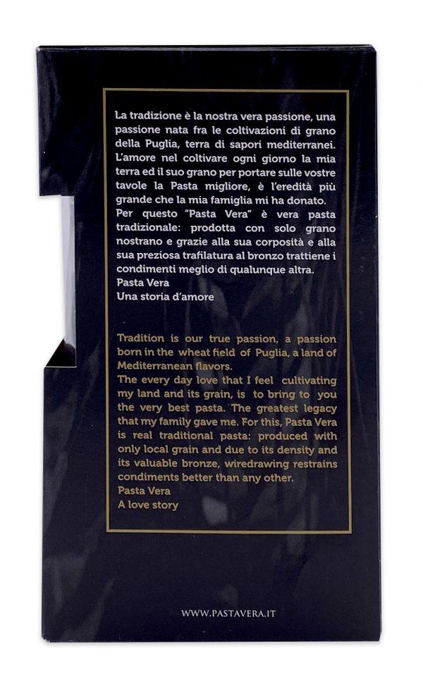 Pasta Vera Italian Organic Squid Ink Penne Rigate 01