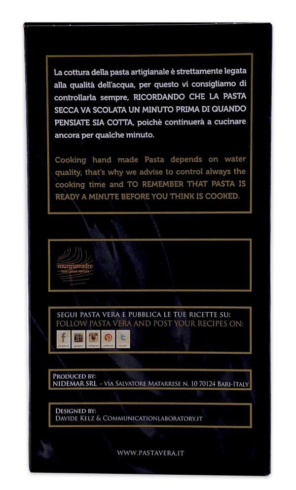Pasta Vera Italian Organic Squid Ink Penne Rigate 05