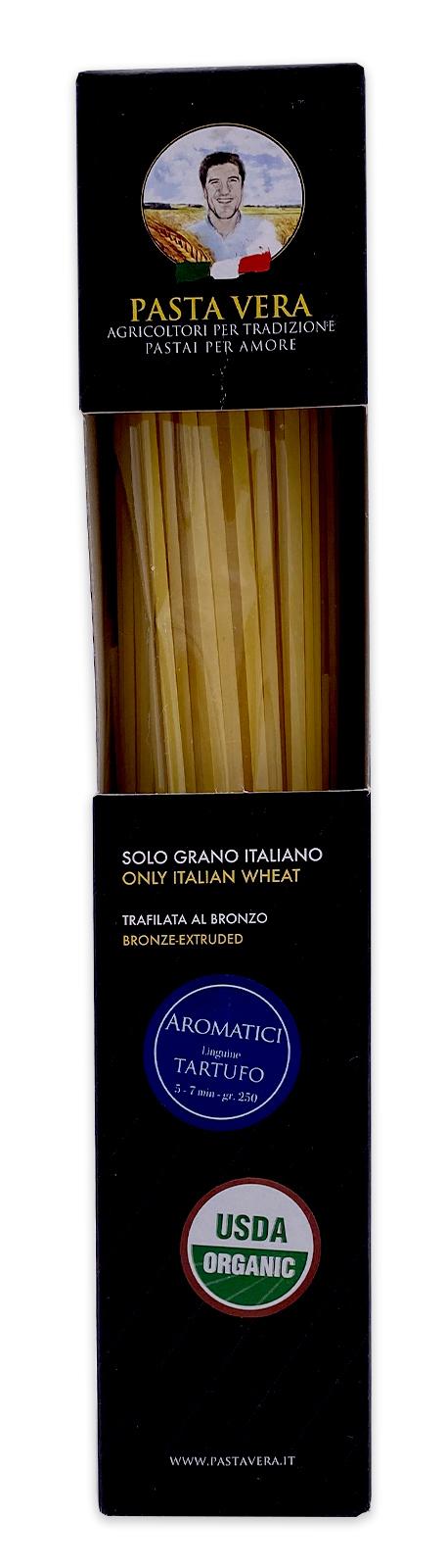 Pasta Vera Italian Organic Tartufo Truffle Linguine 02