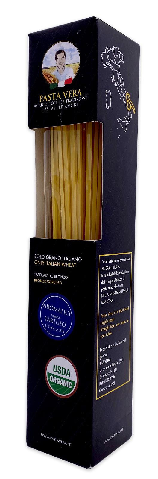 Pasta Vera Italian Organic Tartufo Truffle Linguine 03