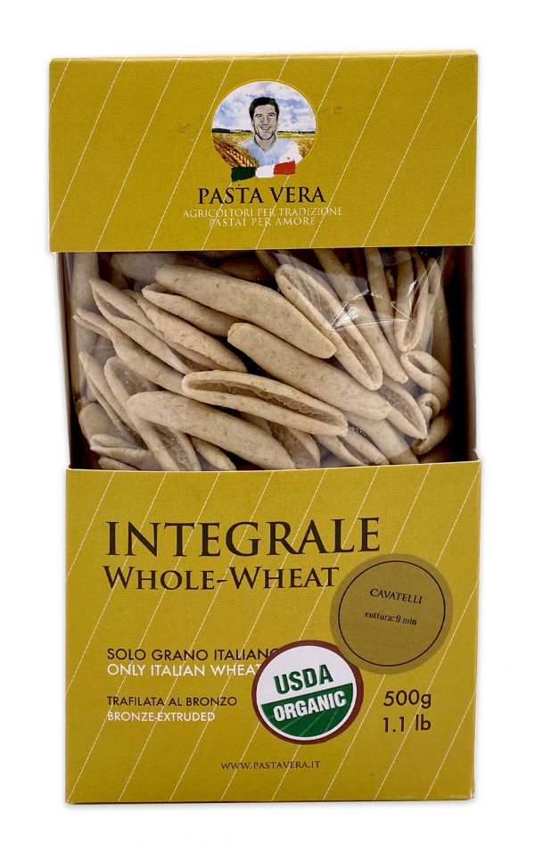 Pasta Vera Italian Organic Whole Wheat Cavatelli 03