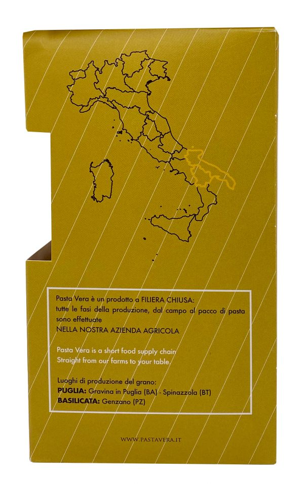 Pasta Vera Italian Organic Whole Wheat Trofie 01