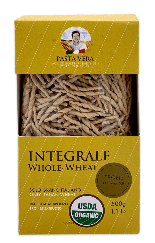 Pasta Vera Italian Organic Whole Wheat Trofie 03