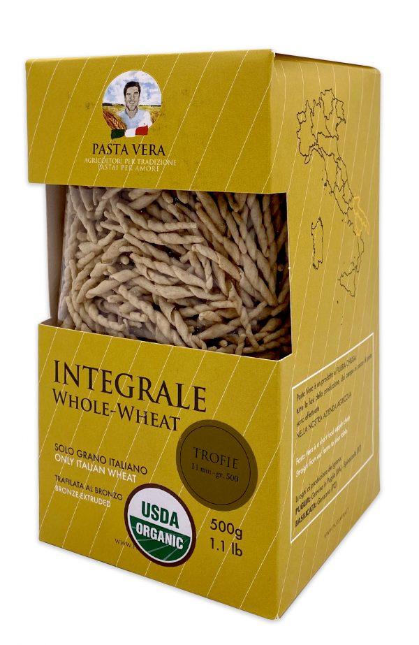 Pasta Vera Italian Organic Whole Wheat Trofie 04